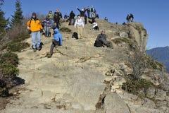 Уступ Rattlesnake, около Сиэтл, США Стоковая Фотография