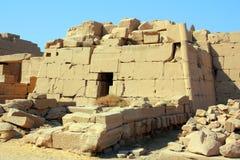 усыпальница виска luxor karnak Египета стоковое изображение