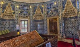 Усыпальница жены Hurrem Suleyman в Стамбуле, Турции Стоковая Фотография