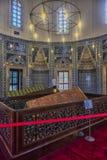 Усыпальница жены Hurrem Suleyman в Стамбуле, Турции Стоковое Изображение