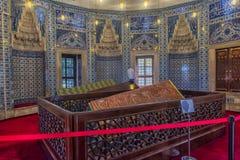 Усыпальница жены Hurrem Suleyman в Стамбуле, Турции Стоковое фото RF