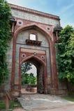 усыпальница Индии старая s сложного humayun delhi Стоковые Изображения
