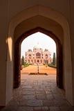усыпальница Индии humayun Стоковая Фотография
