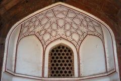 усыпальница Индии humayun Стоковое Изображение RF