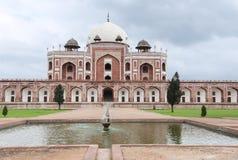 усыпальница Индии s humayun delhi Стоковое Изображение
