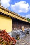 Усыпальница короля Thieu Tri в оттенке стоковое изображение rf