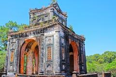 Усыпальница оттенка имперская герцогов Tu, места всемирного наследия ЮНЕСКО Вьетнама стоковое изображение rf