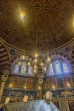 Усыпальница турецкого султана Suleyman в Стамбуле, Турции Стоковая Фотография RF