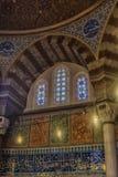 Усыпальница турецкого султана Suleyman в Стамбуле, Турции Стоковые Изображения
