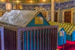 Усыпальница турецкого султана Suleyman в Стамбуле, Турции Стоковая Фотография