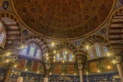 Усыпальница турецкого султана Suleyman в Стамбуле, Турции Стоковое Изображение RF