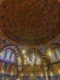 Усыпальница турецкого султана Suleyman в Стамбуле, Турции Стоковые Фото