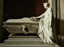 Усыпальница художника в Флоренс, Италии Стоковые Изображения RF