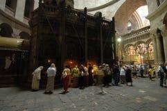 усыпальница christ Иерусалима s Стоковые Фотографии RF