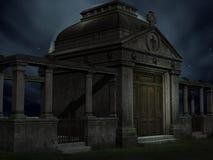 усыпальница halloween Стоковые Изображения RF