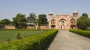 Усыпальница I'timÄd-ud-Daulah (младенца Taj Mahal) стоковое изображение rf