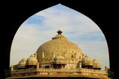 усыпальница issa khan новая s delhi Индии Стоковое Фото