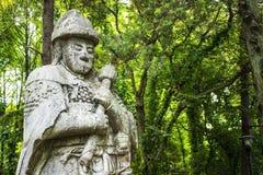 Усыпальница Ming Xiaoling в Нанкине Китае Стоковые Изображения