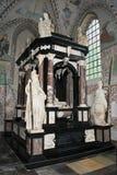 усыпальница rockilde короля frederick ii собора стоковые фото