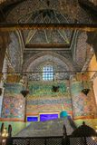 Усыпальница ` s Sufi на музее Mevlana в Konya, Турции Стоковые Изображения