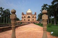 Усыпальница Safdurjung, New Delhi, Индия Стоковое Изображение RF