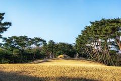 Усыпальница Taereung королевская стоковое фото rf