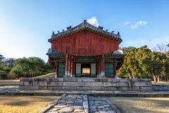 Усыпальница Taereung королевская стоковые изображения rf