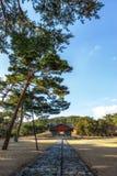 Усыпальница Taereung королевская стоковая фотография rf