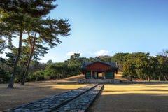 Усыпальница Taereung королевская стоковое изображение