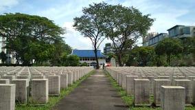 Усыпальницы кладбища Стоковое фото RF
