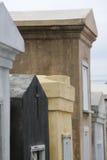 усыпальницы 1 st louis New Orleans кладбища Стоковое Изображение RF