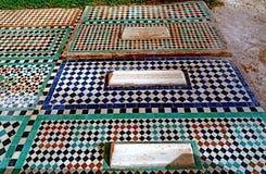 Усыпальницы Sadiane в Marrakesh Стоковое Изображение