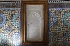Усыпальницы Sadiane в Marrakesh Стоковая Фотография RF