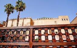 Усыпальницы Sadiane в Marrakesh Стоковое Фото
