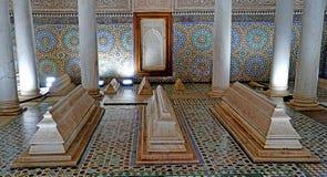 Усыпальницы Sadiane в Marrakesh Стоковые Фотографии RF