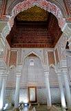 Усыпальницы Sadiane в Marrakesh Стоковая Фотография