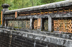 Усыпальница герцогов Tu в Вьетнаме стоковое фото