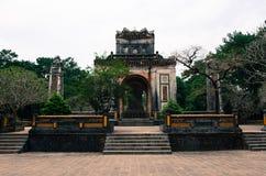 Усыпальница герцогов Tu императора Nguyen Стоковое Фото