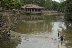 Усыпальница герцогов Tu около оттенка, Вьетнам (2) Стоковые Фотографии RF