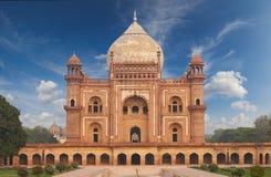 Усыпальница Нью-Дели Humayun, Индия Стоковые Изображения