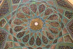 Усыпальница потолка Hafez Стоковая Фотография RF