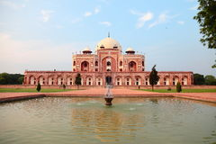 усыпальница humayun новая s delhi Стоковые Изображения