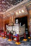 Усыпальница Khai Dinh, города оттенка Стоковое Изображение RF