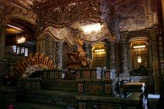Усыпальница Khai Dinh, города оттенка Стоковое Фото