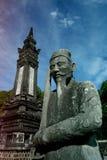 Усыпальница Khai Dinh, города оттенка Стоковое Изображение