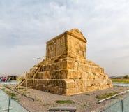 Усыпальница Pasargad большая Cyrus Стоковые Изображения