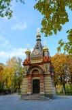 Усыпальница Paskevich, Gomel часовни, Беларусь стоковые фотографии rf