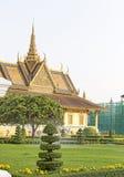 усыпальница phnom penh дворца Камбоджи королевская Стоковая Фотография RF