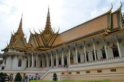 усыпальница phnom penh дворца Камбоджи королевская Стоковые Фото