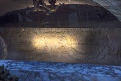 Усыпальница Raphael в здании пантеона в Риме Италии Стоковые Изображения